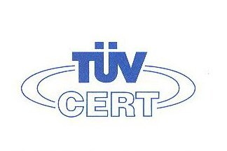 Certified ISO 9001:2000 'Quality Management System' since May 2010 By TUV SUD